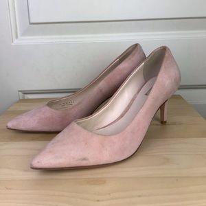 Cole Haan Genuine suede and leather Pale pink heel
